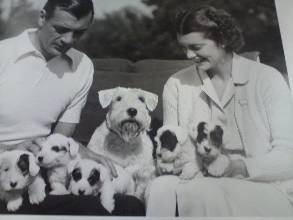 Gary Cooper, wife and Sealys